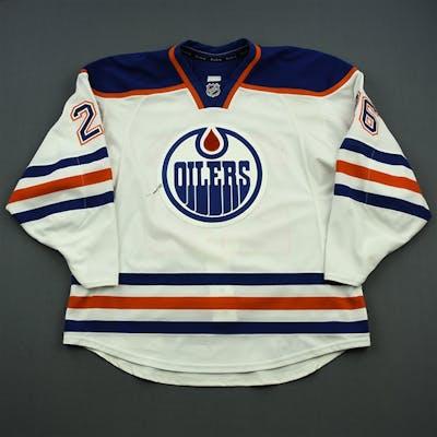 Arcobello, Mark White Set 2 Edmonton Oilers 2014-15 #26 Size: 56