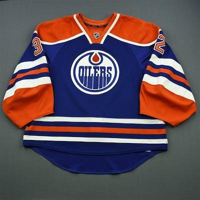 Bachman, Richard Blue Set 1 Edmonton Oilers 2014-15 #32 Size: 58G