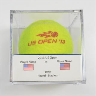 Virginie Razzano vs. Anastasia Pavlyuchenkova Match-Used Ball - Round