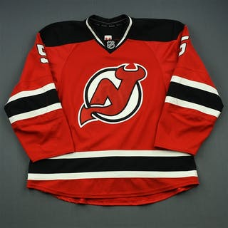 Larsson, Adam Red Set 2 New Jersey Devils 2014-15 #5 Size: 58