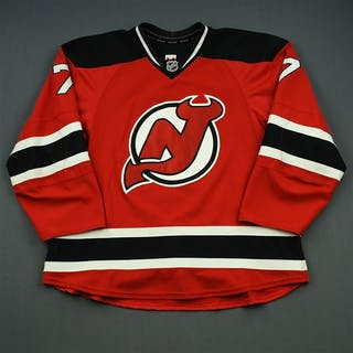 Merrill, Jon Red Set 2 New Jersey Devils 2014-15 #7 Size: 58
