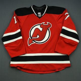 Ryder, Michael Red Set 2 New Jersey Devils 2014-15 #17 Size: 56
