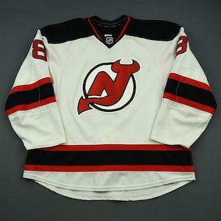 Zubrus, Danius White Set 2 New Jersey Devils 2014-15 #8 Size: 58+