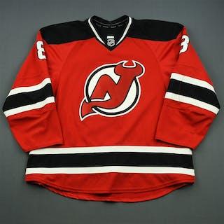 Zubrus, Danius Red Set 1 New Jersey Devils 2014-15 #8 Size: 58+