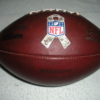 Game-Used Football Game-Used Football from November 16, 2014 vs. Tampa
