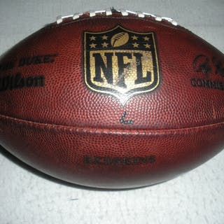 Game-Used Football Game-Used Football from November 30, 2014 vs. Indianapolis
