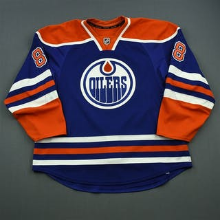 Davidson, Brandon Blue Set 1 Edmonton Oilers 2014-15 #88 Size: 58