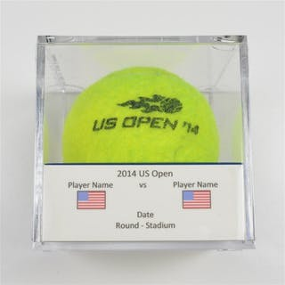 David Goffin vs. Joao Sousa Match-Used Ball - Round 2 - Court 7 US