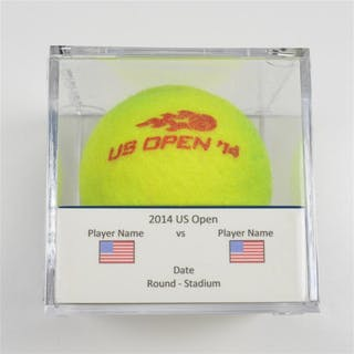 Elena Vesnina vs. Yung-Jan Chan Match-Used Ball - Round 1 - Court