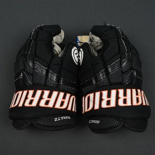 Schultz, Nick Warrior Covert Gloves Philadelphia Flyers 2014-15 #55