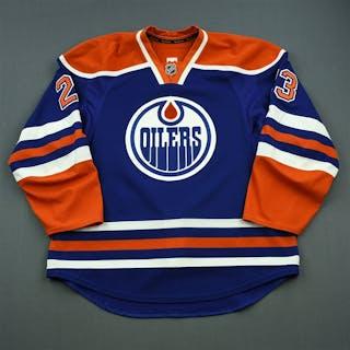 Hendricks, Matt Blue Set 1 Edmonton Oilers 2014-15 #23 Size: 56