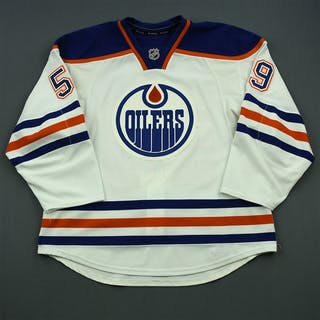 Hunt, Brad White Set 1 - 1st NHL Goal Edmonton Oilers 2014-15 #59 Size: 56