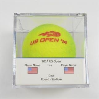 Nicole Gibbs vs. Anastasia Pavlyuchenkova Match-Used Ball - Round
