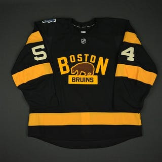 McQuaid, Adam * Black - Winter Classic (Period 2) Boston Bruins 2015-16