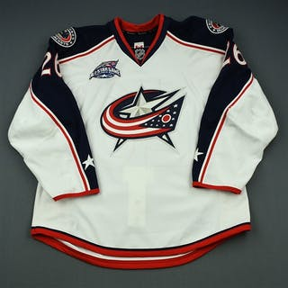 Tropp, Corey * White Set 1 w/All-Star Game Patch - Photo-Matched Columbus