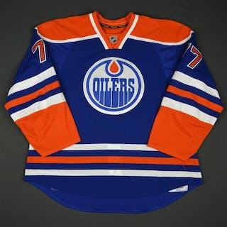 Klefbom, Oscar * Blue Set 1 - Photo-Matched Edmonton Oilers 2015-16