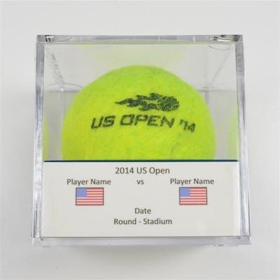 Sam Groth vs. Roger Federer Match-Used Ball - Round 2 - Arthur Ashe