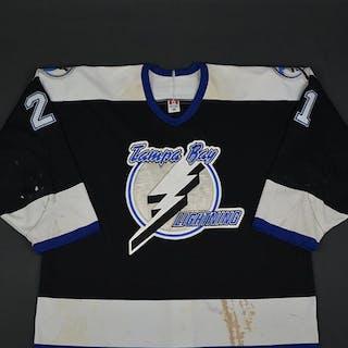 Sarich, Cory * Black 2nd Regular Season Tampa Bay Lightning 2002-03