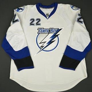 Boyle, Dan * White- Photo-Matched Tampa Bay Lightning 2007-08 #22 Size: 56