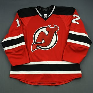 Boucher, Reid Red Set 3 New Jersey Devils 2014-15 #12 Size: 56