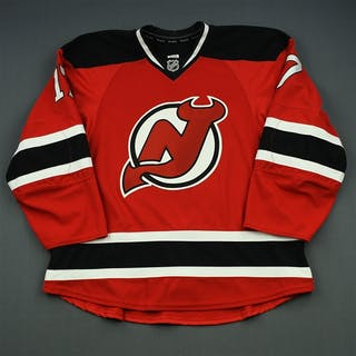 Ryder, Michael Red Set 3 - Game-Issued (GI) New Jersey Devils 2014-15