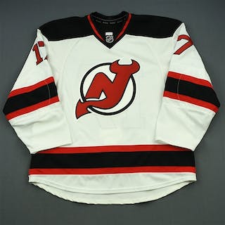 Ryder, Michael White Set 3 - Game-Issued (GI) New Jersey Devils 2014-15