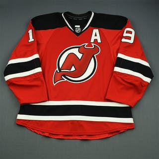 Zajac, Travis Red Set 3 w/A New Jersey Devils 2014-15 #19 Size: 56