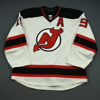 Zajac, Travis White Set 3 w/A New Jersey Devils 2014-15 #19 Size: 56