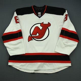 Zubrus, Danius White Set 3 New Jersey Devils 2014-15 #8 Size: 58+