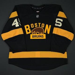 Morrow, Joe Third Set 1 Boston Bruins 2016-17 #45 Size: 56