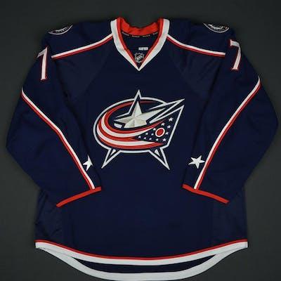Johnson, Jack Blue Set 1 Columbus Blue Jackets 2016-17 #7 Size:56
