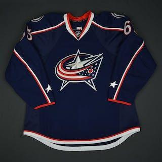 Nutivaara, Markus Blue Set 1 - NHL Debut Columbus Blue Jackets 2016-17
