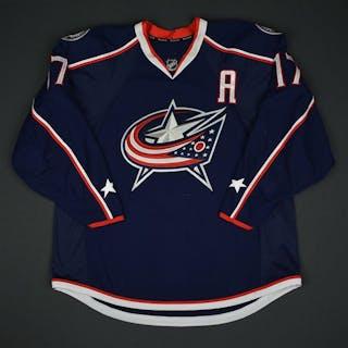 Dubinsky, Brandon Blue Set 1 w/A Columbus Blue Jackets 2016-17 #17 Size:56
