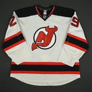Clowe, Ryane * White Set 1 - Photo-Matched New Jersey Devils 2013-14