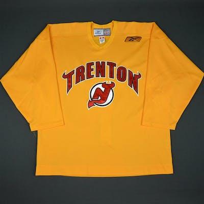 Reebok Yellow Reebok Practice Jersey - CLEARANCE Trenton Devils Size: 56