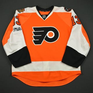 Lyubimov, Roman Orange Set 3 w/ NHL Centennial, Flyers 50th Anniversary