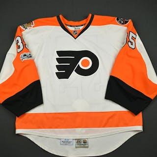 Mason, Steve White Set 3 w/ NHL Centennial, Flyers 50th Anniversary
