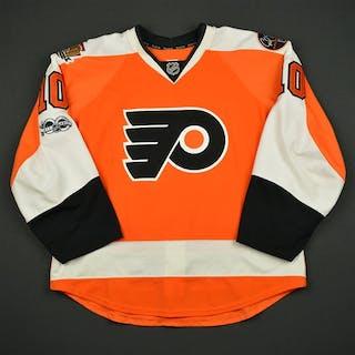 Schenn, Brayden Orange Set 2 w/ NHL Centennial, Flyers 50th Anniversary