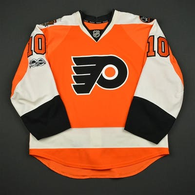 Schenn, Brayden Orange Set 3 w/ NHL Centennial, Flyers 50th Anniversary