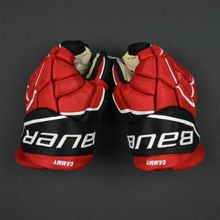 Cammalleri, Michael Bauer Gloves (re-branded Easton Gloves) New Jersey