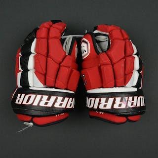 Kovalchuk, Ilya Warrior Luxe Gloves - PHOTO-MATCHED New Jersey Devils