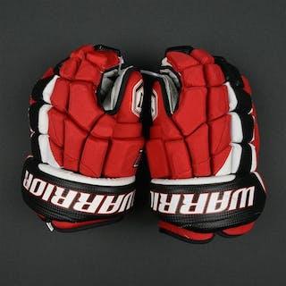 Kovalchuk, Ilya Warrior Luxe Gloves New Jersey Devils