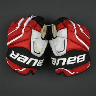 Zajac, Travis Bauer Vapor APX2 Gloves New Jersey Devils Size: 14