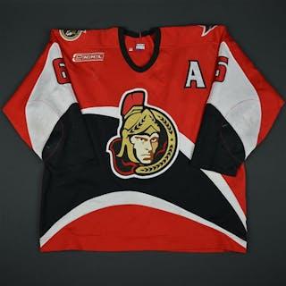 Redden, Wade * Red - w/A Ottawa Senators 1999-00 #9 Size: 58