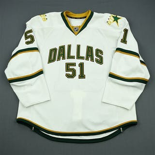 King, Tristan White Set 1 - Training Camp Only Dallas Stars 2011-12