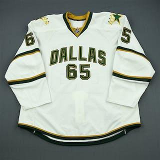 NNOB White Set 1 - Game-Issued (GI) Dallas Stars 2011-12 #65 Size: 58