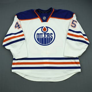 Fistric, Mark White Retro Set 2 Edmonton Oilers 2012-13 #45 Size: 58
