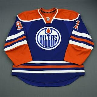 Paajarvi, Magnus Blue Retro Set 1 Edmonton Oilers 2012-13 #91 Size: 56