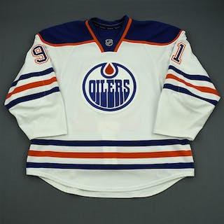 Paajarvi, Magnus White Retro Set 1 Edmonton Oilers 2012-13 #91 Size: 56