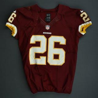 Wilson, Josh Burgundy worn December 3, 2012 vs. New York Giants Washington